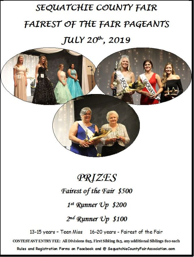 2019 FOF Poster evening pageants